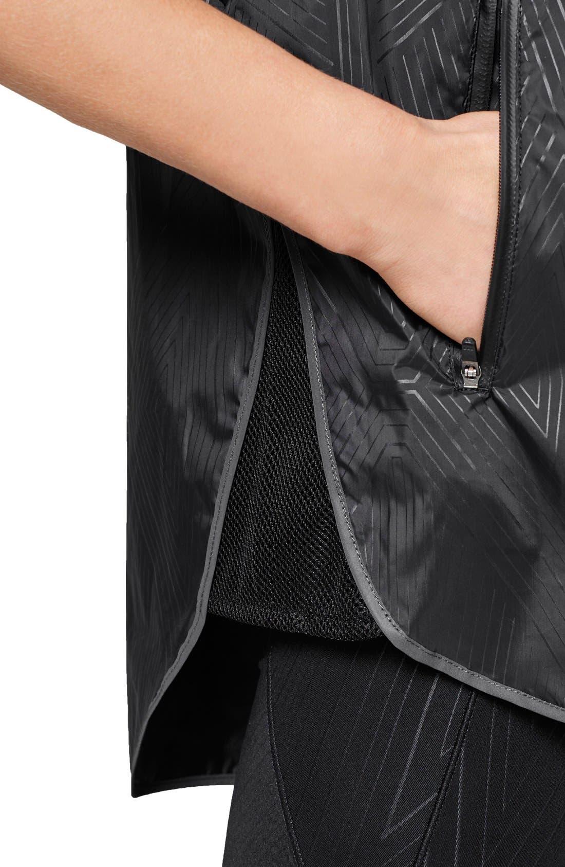 Alternate Image 5  - IVY PARK® Reflective Print Hooded Sleeveless Jacket