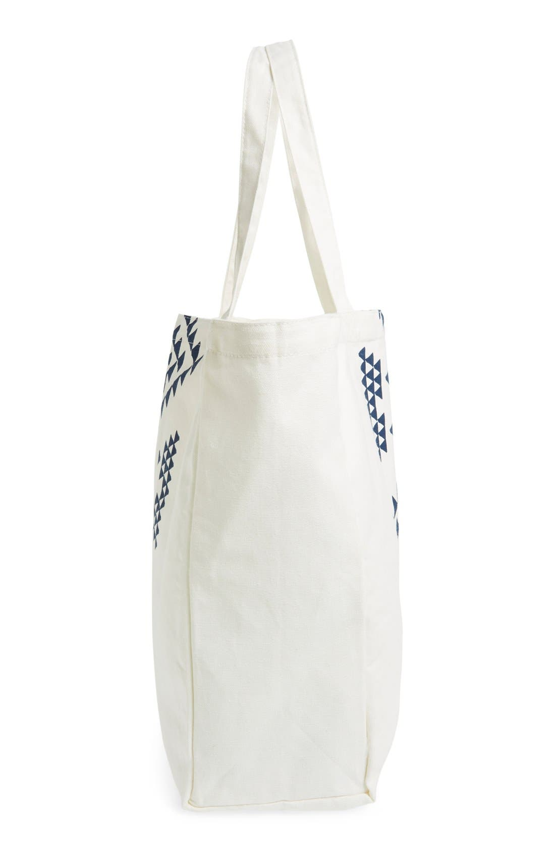 Alternate Image 5  - Soleil Geo Print Canvas Tote
