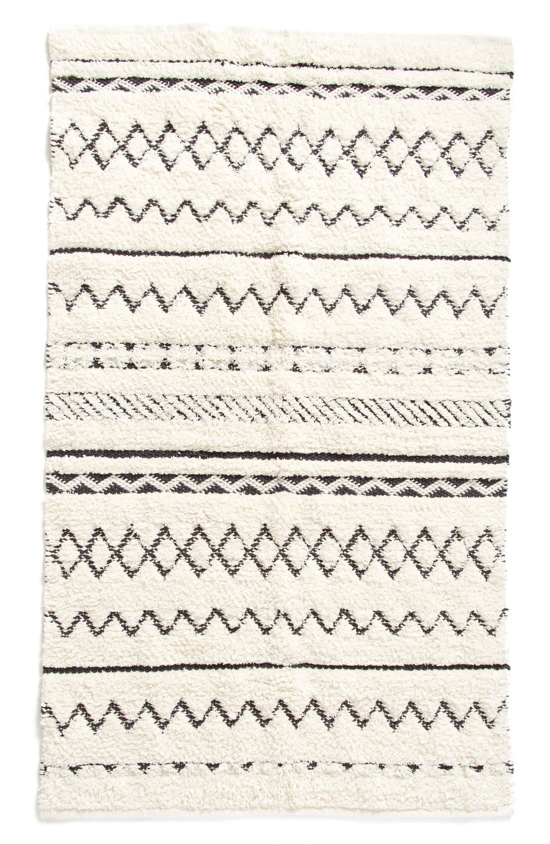 Alternate Image 2  - Nordstrom at Home 'Diamond' Hand Tufted Cotton Rug