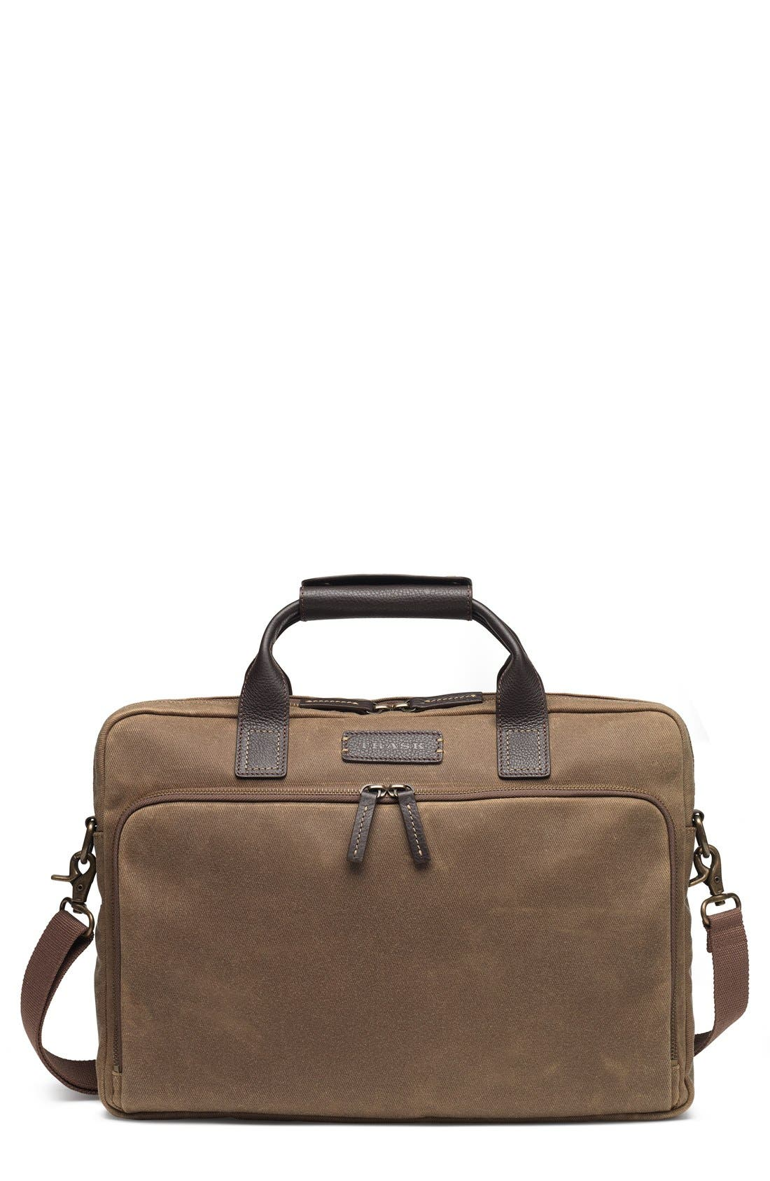 Trask 'Bridger Trail' Waxed Canvas Tote