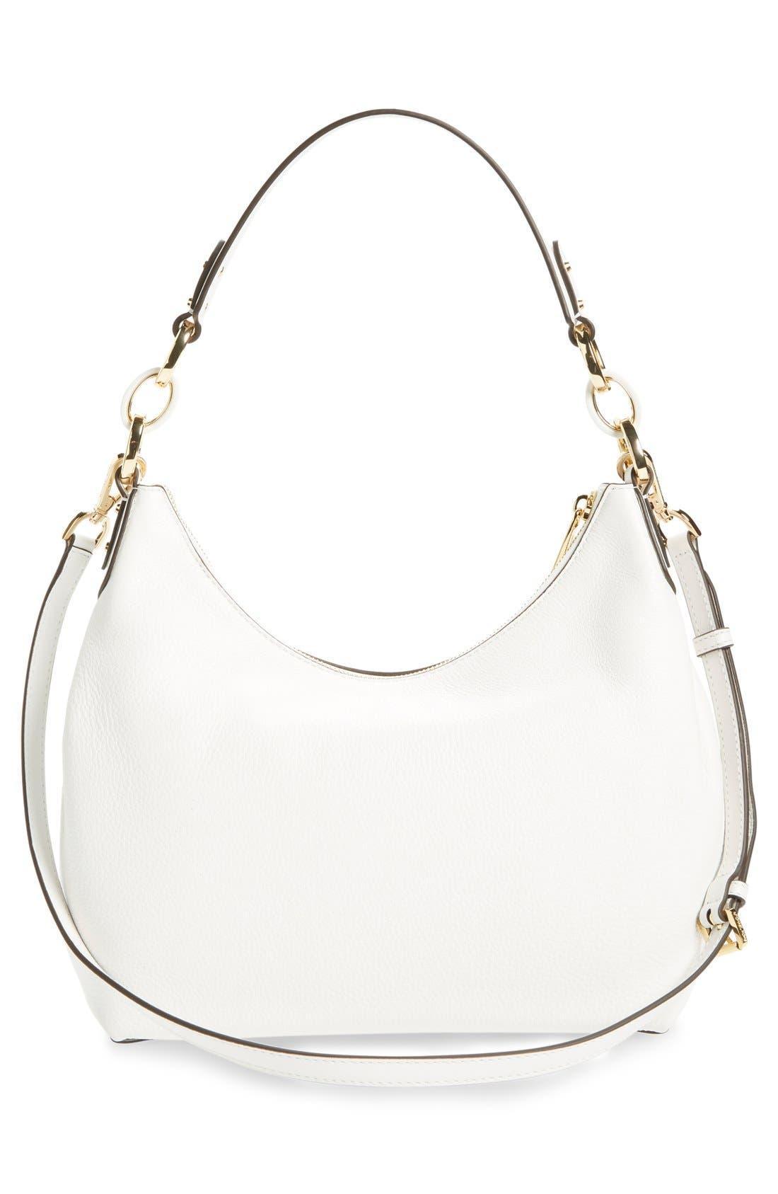 Alternate Image 3  - MICHAEL Michael Kors 'Medium Isabella' Convertible Leather Shoulder Bag