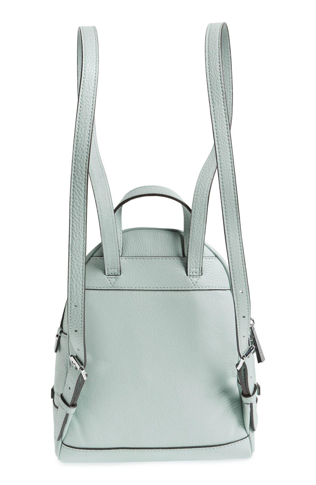 Alternate Image 3  - MICHAEL Michael Kors 'Extra Small Rhea' Leather Backpack