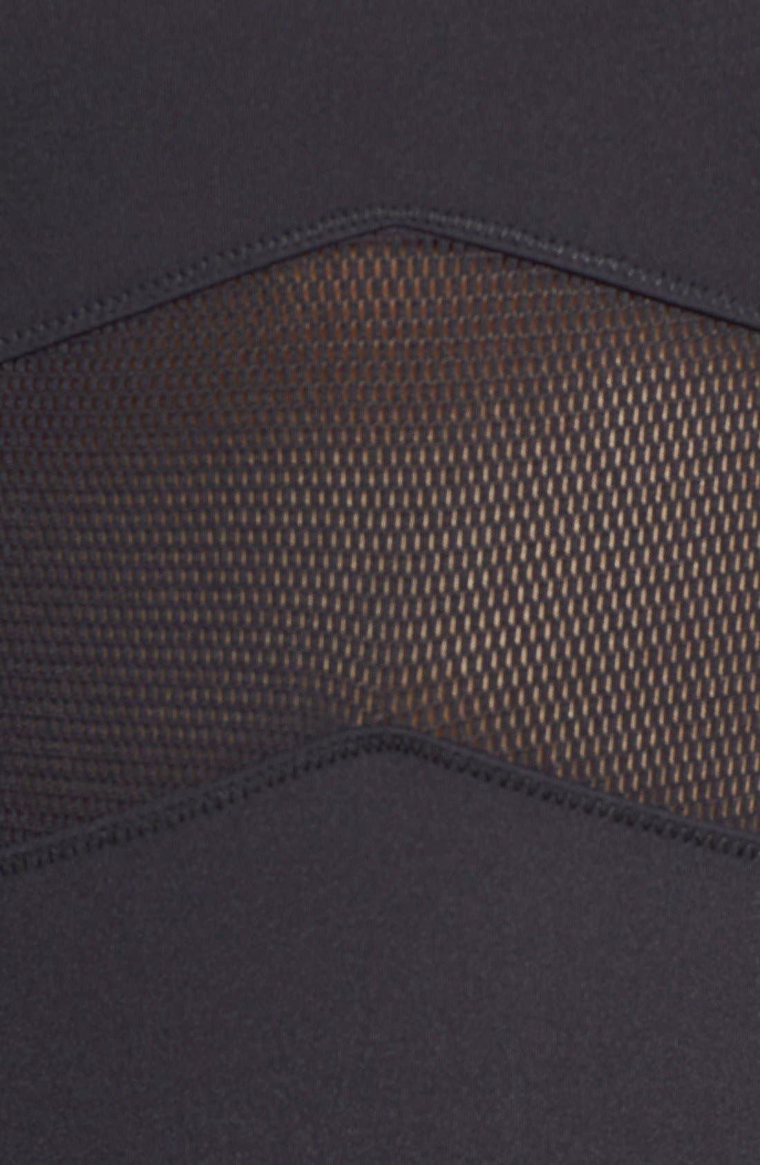 Alternate Image 5  - IVY PARK® Mesh Panel Bodysuit