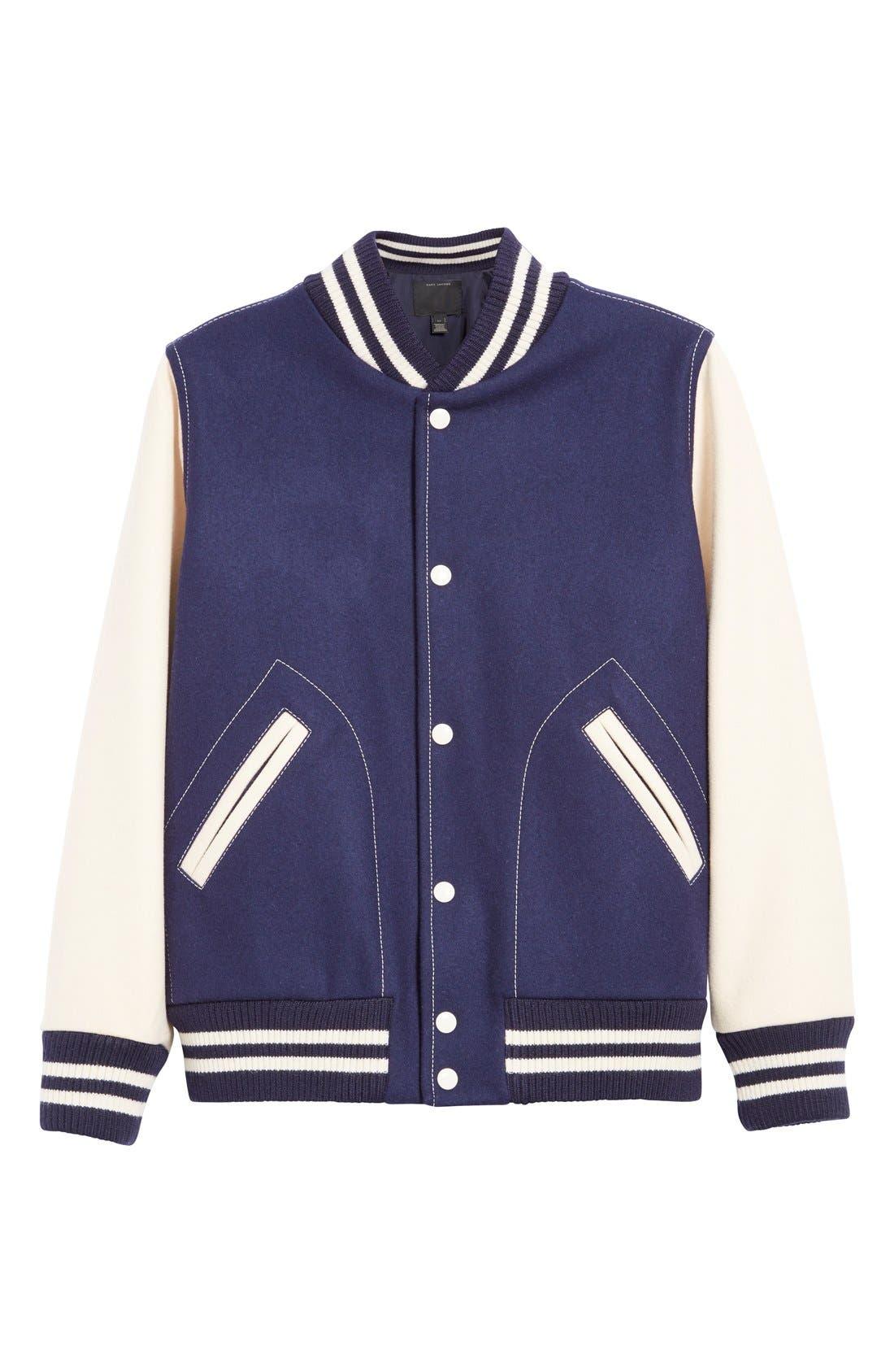 Alternate Image 4  - MARC JACOBS Shrunken Varsity Jacket