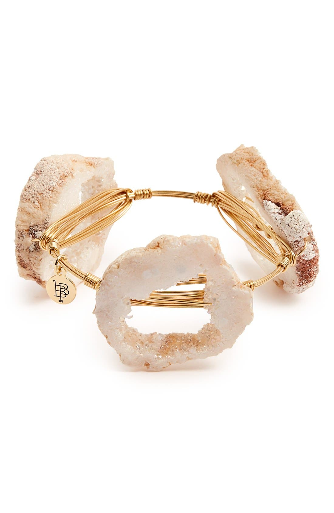 Alternate Image 3  - Bourbon and Boweties Geode Stone Bangle