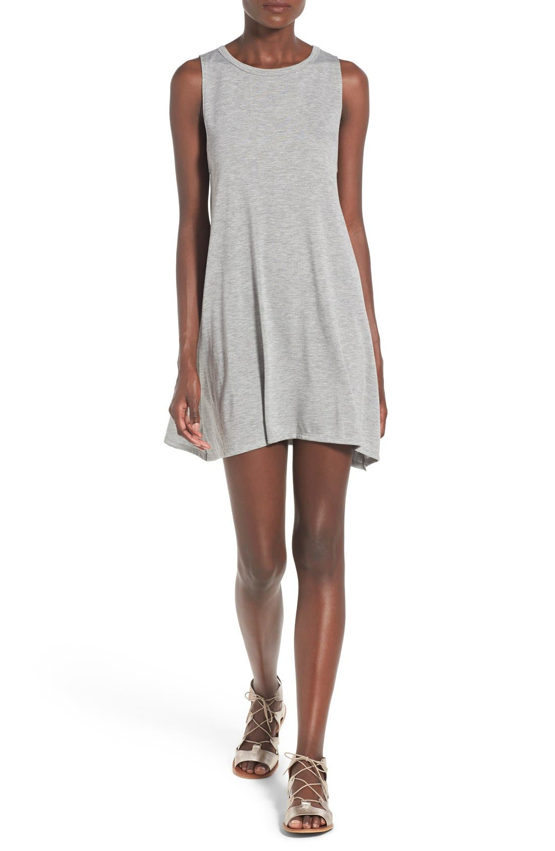 Alternate Image 1 Selected - Billabong 'Last Call' Sleeveless Swing Dress
