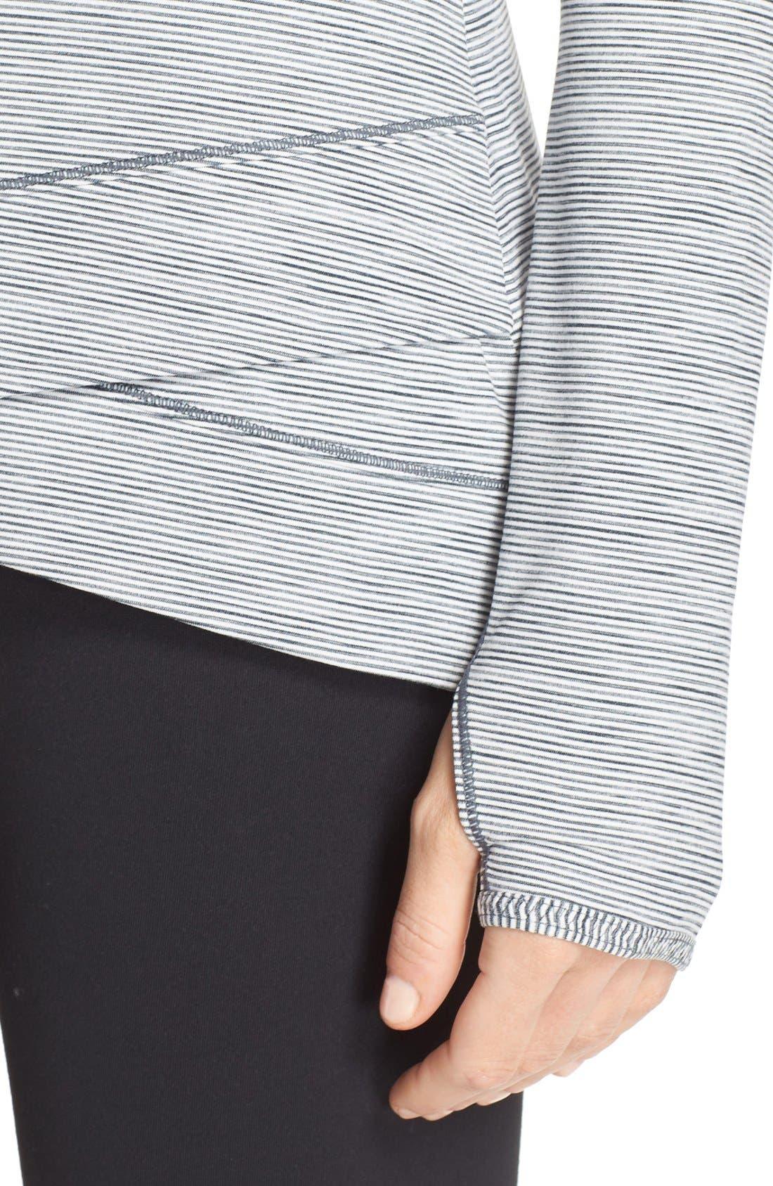 Alternate Image 4  - Zella 'Layer Me' Pullover