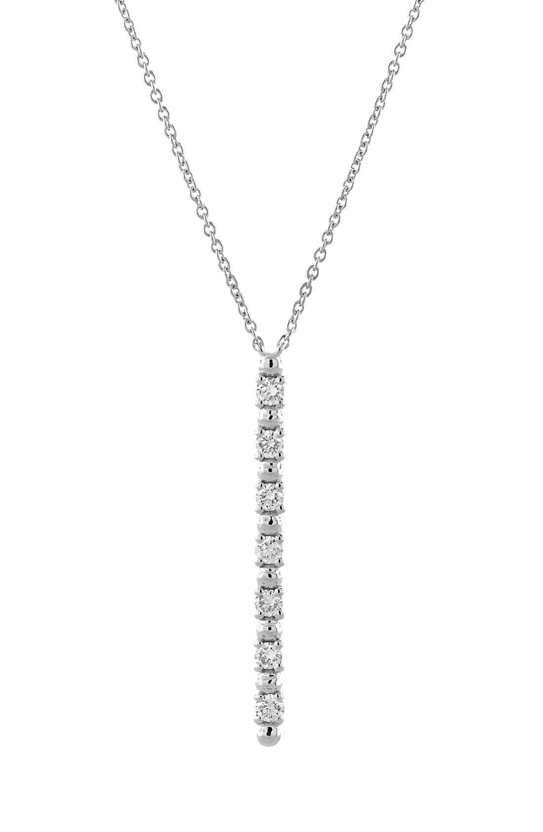 BONY LEVY Diamond Pendant Necklace