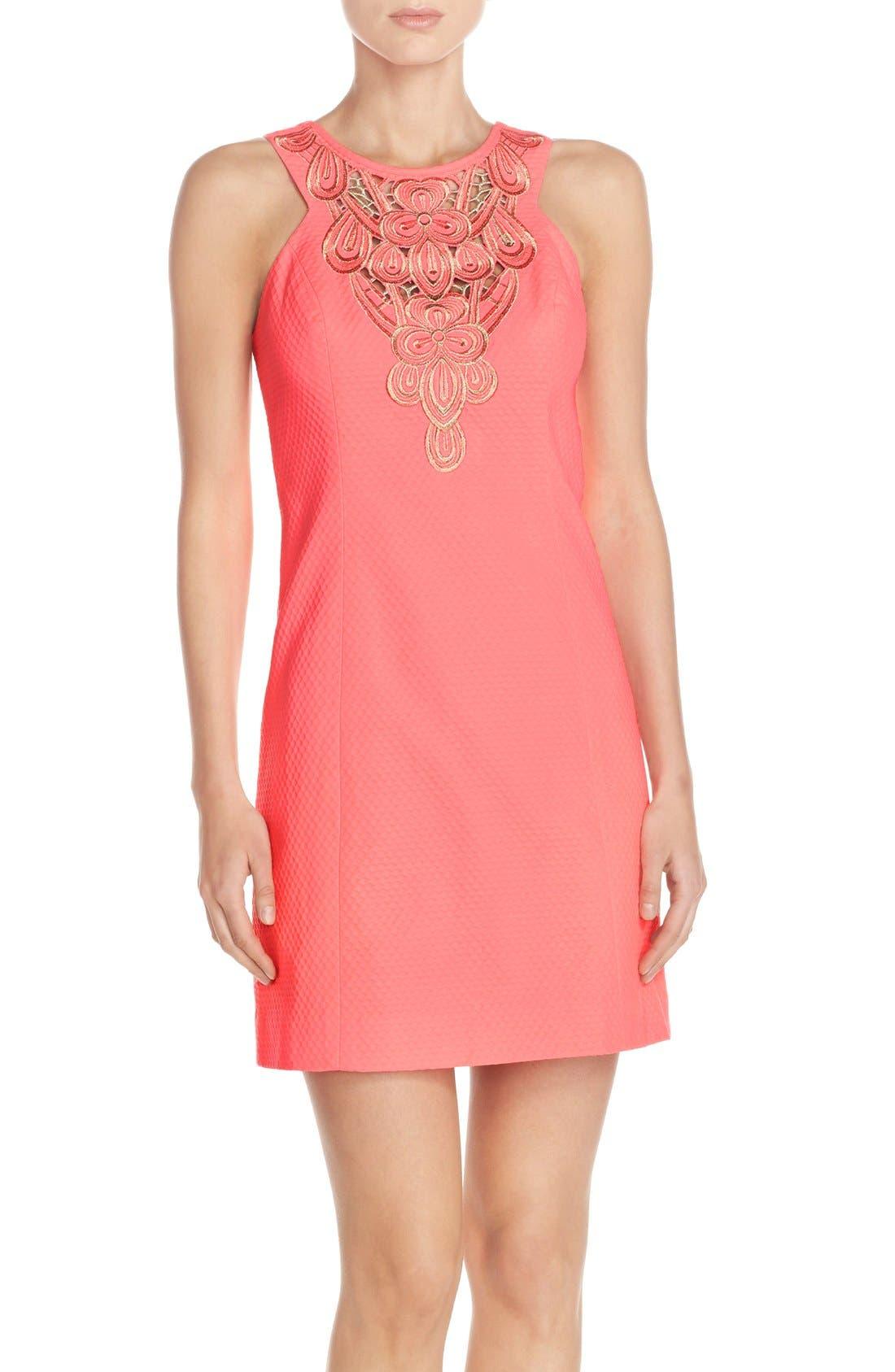 Alternate Image 1 Selected - Lilly Pulitzer® 'Largo' Cotton Piqué Sheath Dress