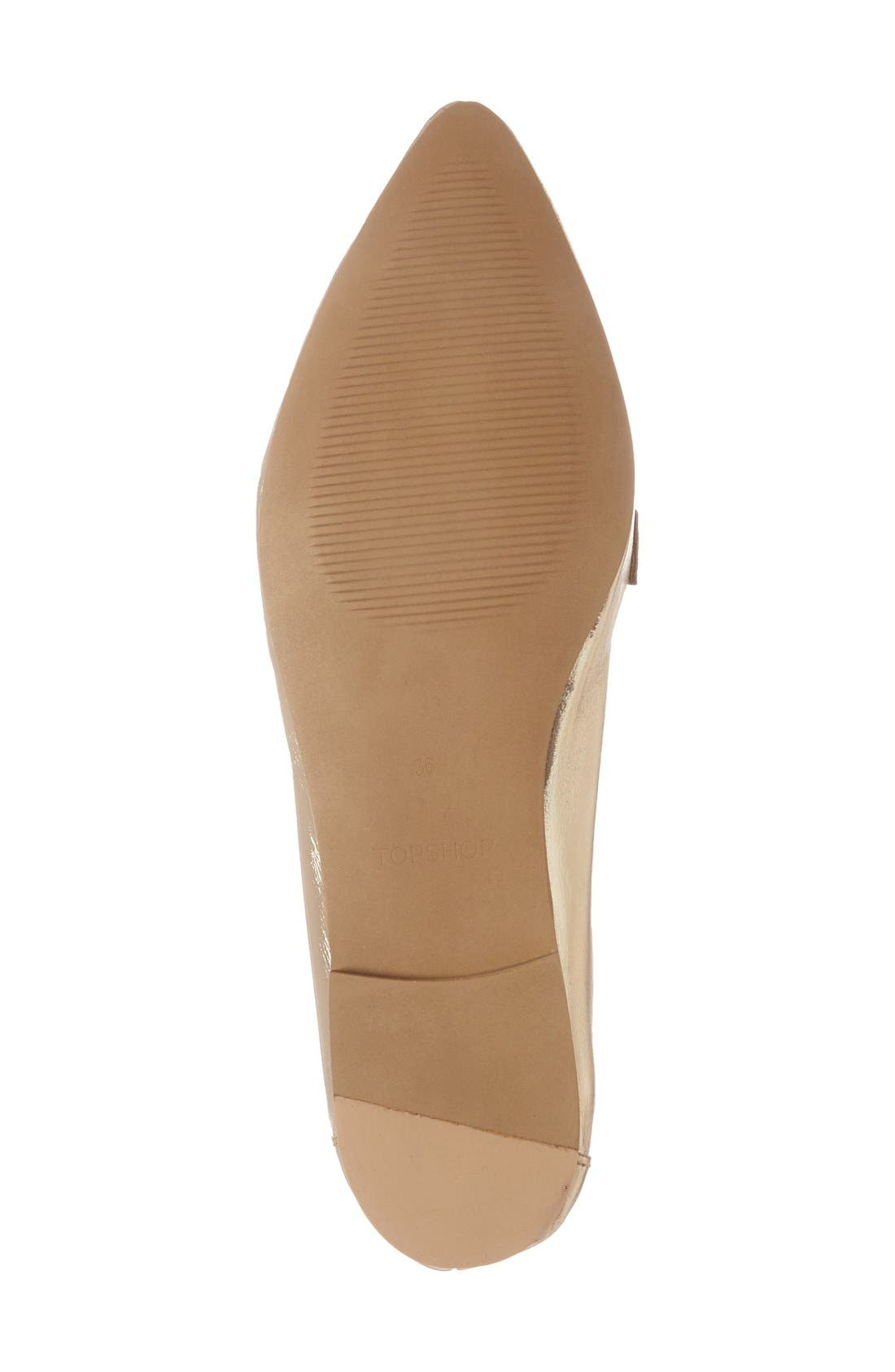 Alternate Image 4  - Topshop Kimi Loafer (Women)