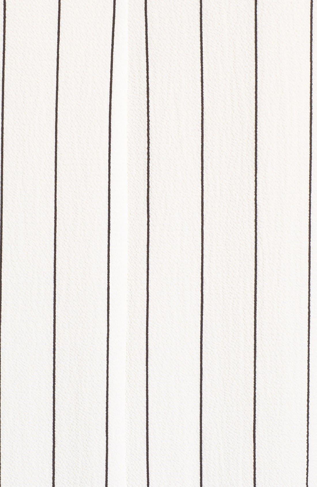 Alternate Image 6  - BP. Stripe Ruffle Hem Shirt
