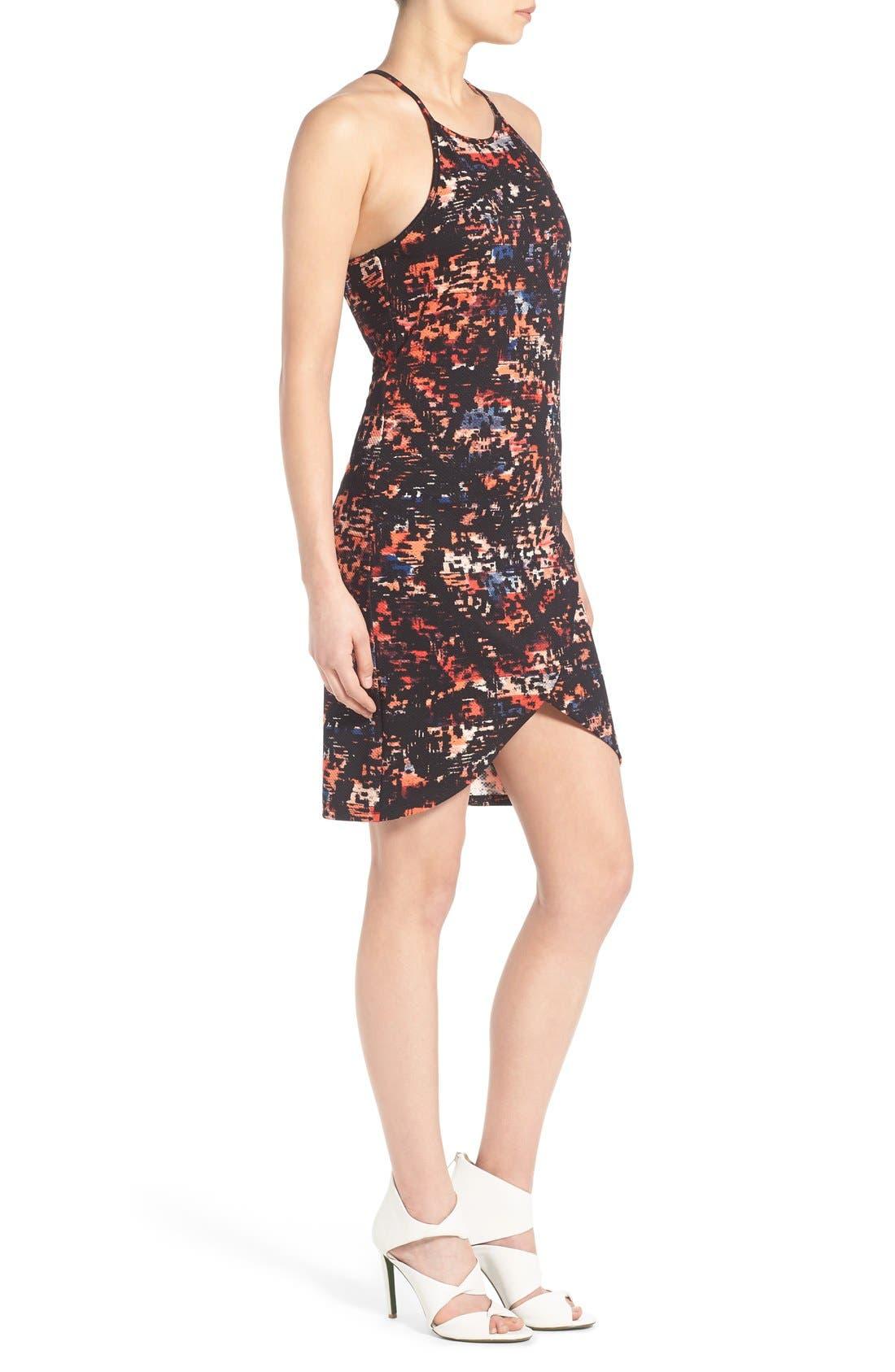 Alternate Image 3  - June & Hudson Print Piqué Body-Con Dress