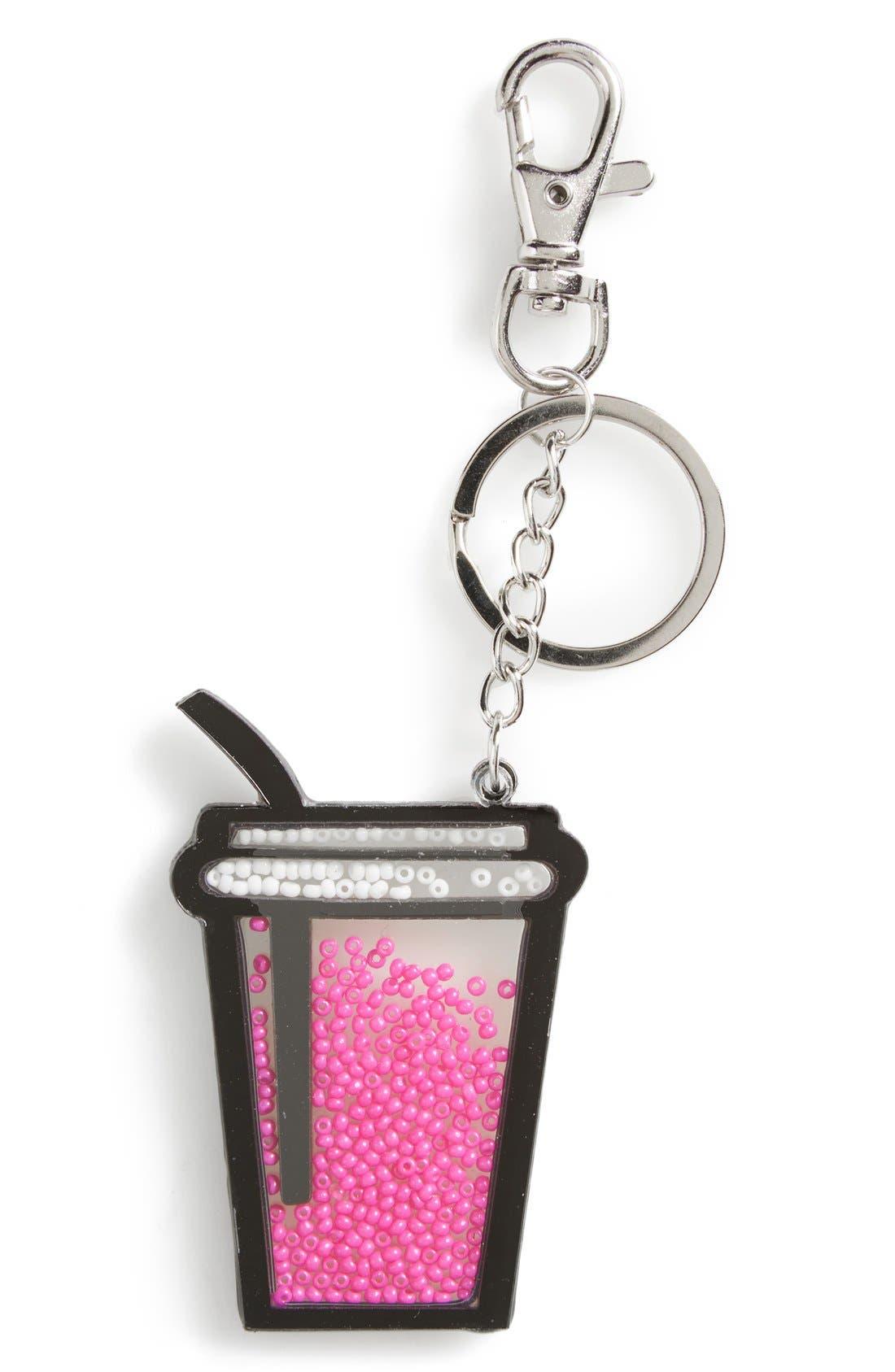 Alternate Image 1 Selected - Topshop Novelty Drink Key Ring