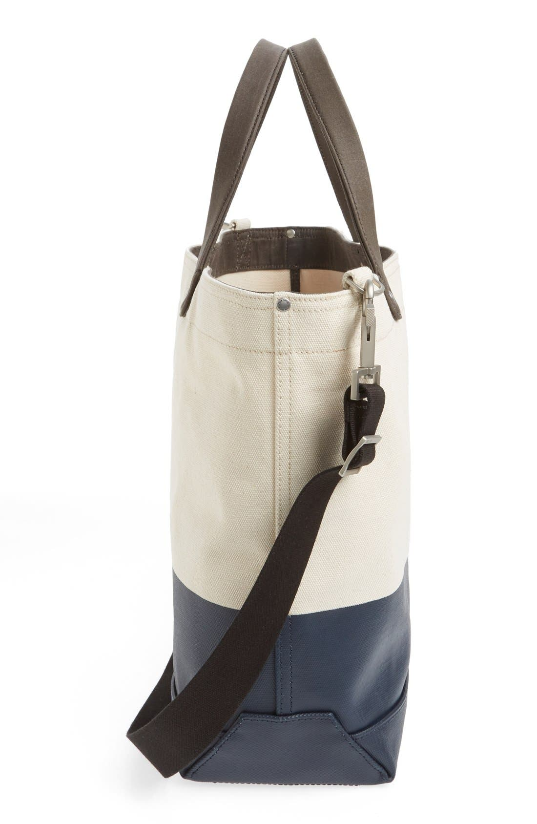 Alternate Image 5  - Jack Spade 'Industrial Dipped Coal' Canvas Bag