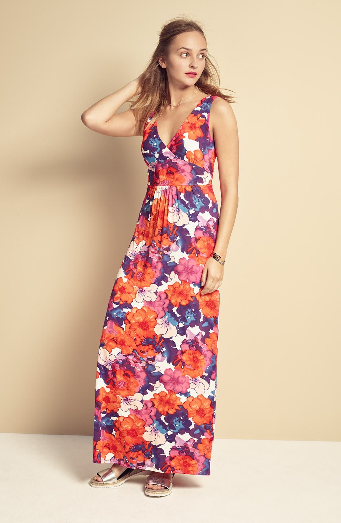 Alternate Image 2  - Felicity & Coco Jersey Maxi Dress (Regular & Petite) (Nordstrom Exclusive)