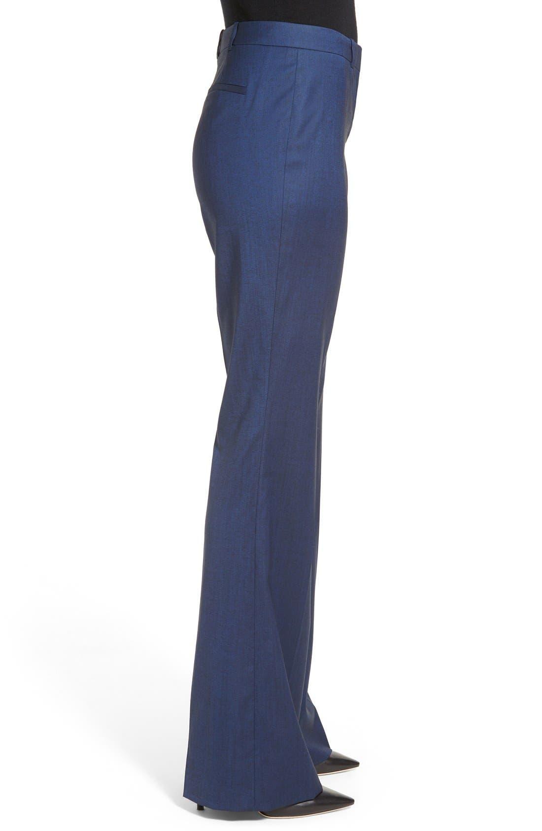 Alternate Image 4  - BOSS 'Tulea' Stretch Wool Blend Suit Trousers