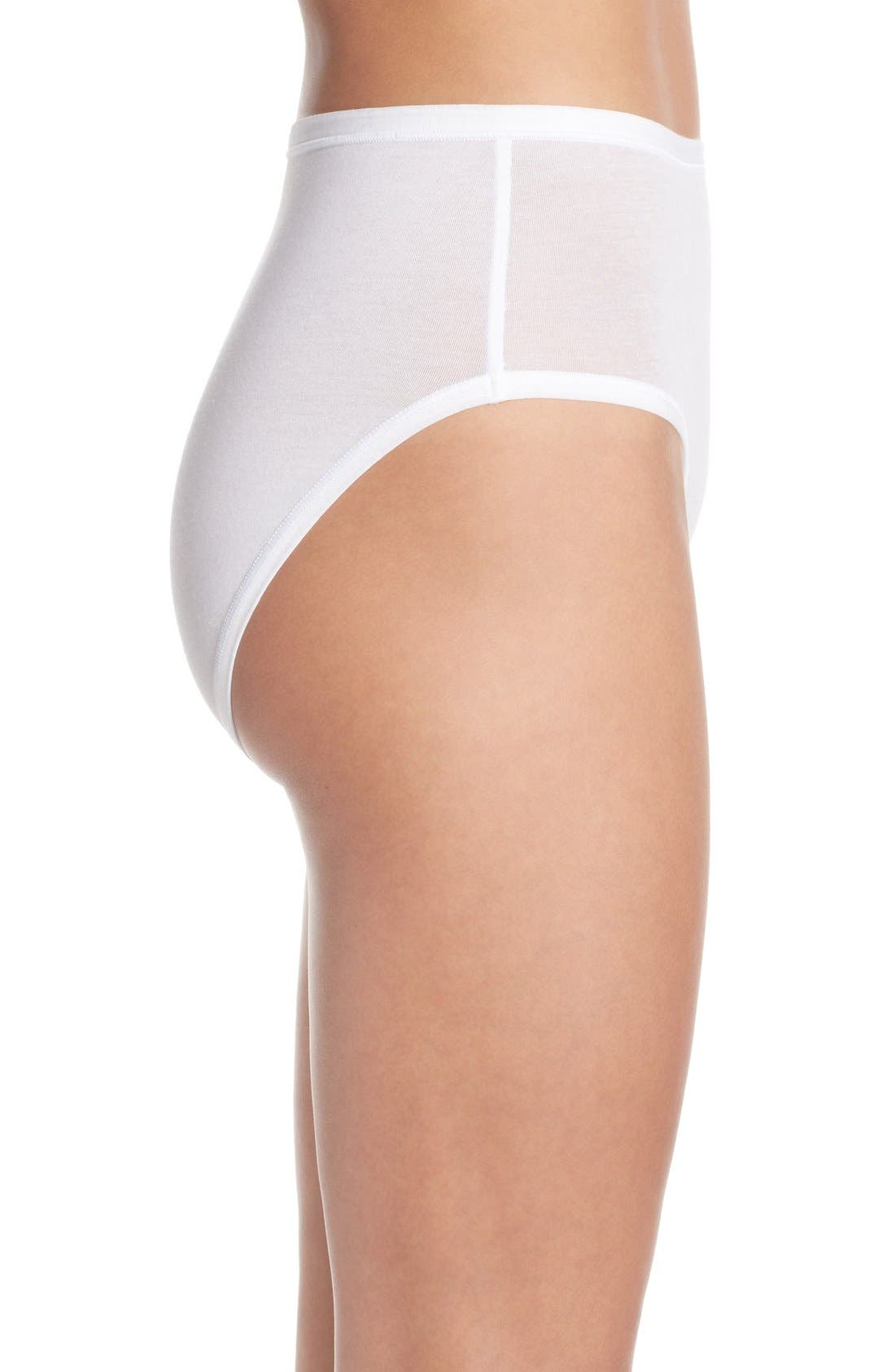 Alternate Image 3  - Wacoal B Fitting High Cut Briefs (3 for $28)