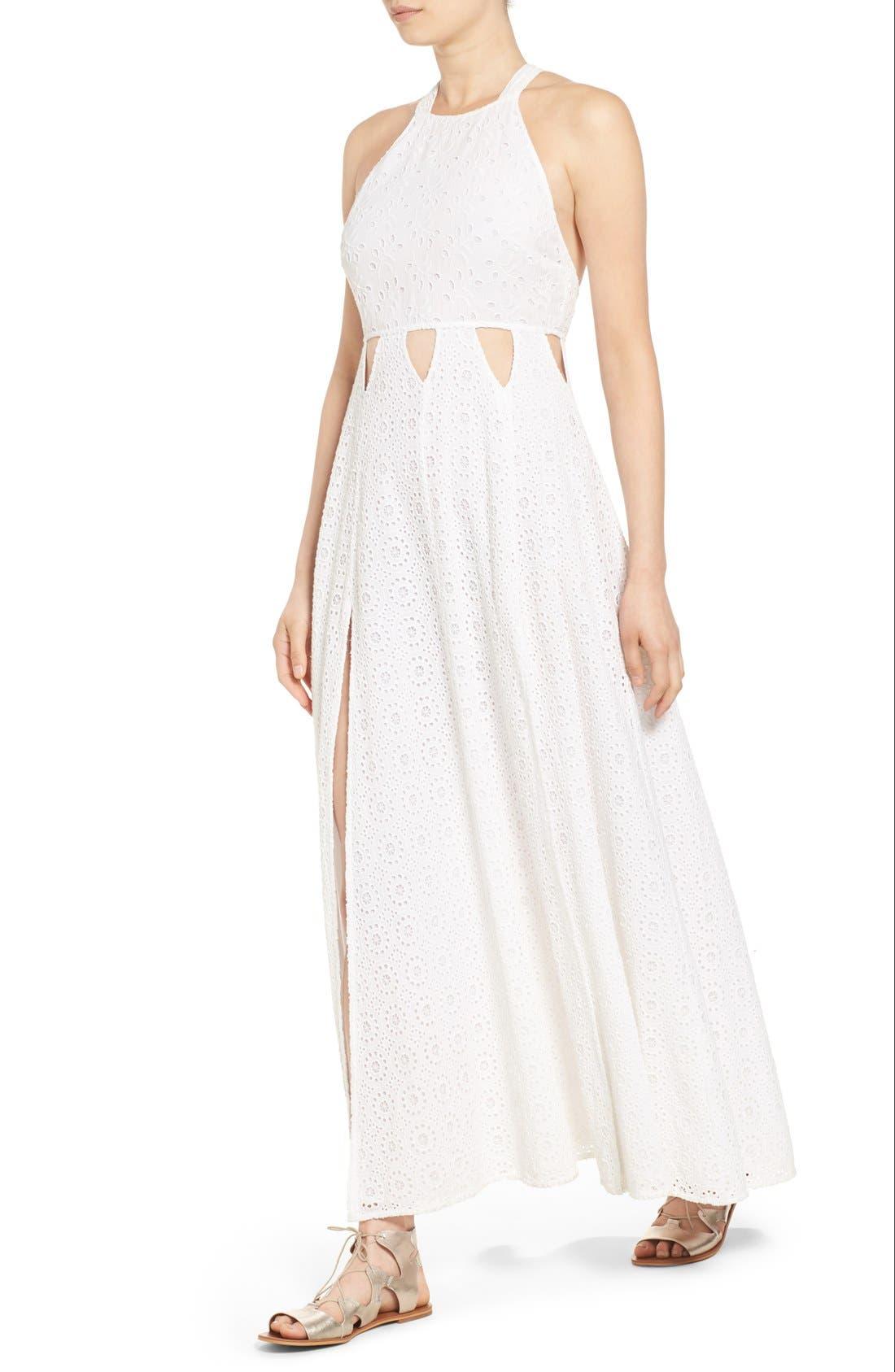 Alternate Image 4  - Tularosa 'Duchess' Cotton Lace Maxi Dress