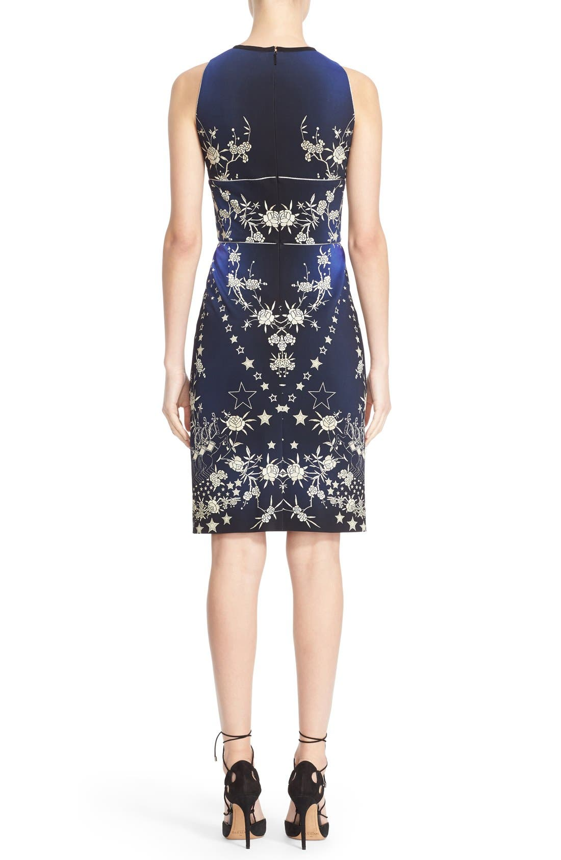 Alternate Image 2  - Roberto Cavalli 'Pretty Thing' Print Jersey Sheath Dress