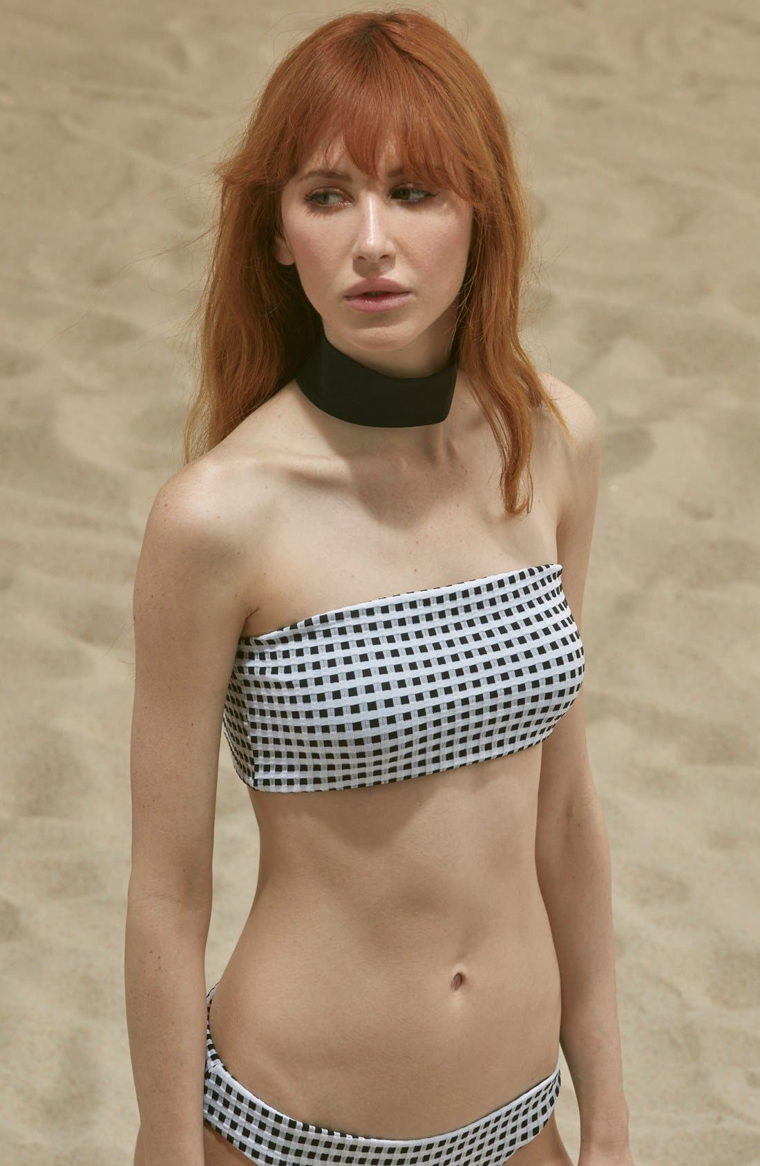 Alternate Image 1 Selected - ONIA 'Laura' Choker Bandeau Bikini Top