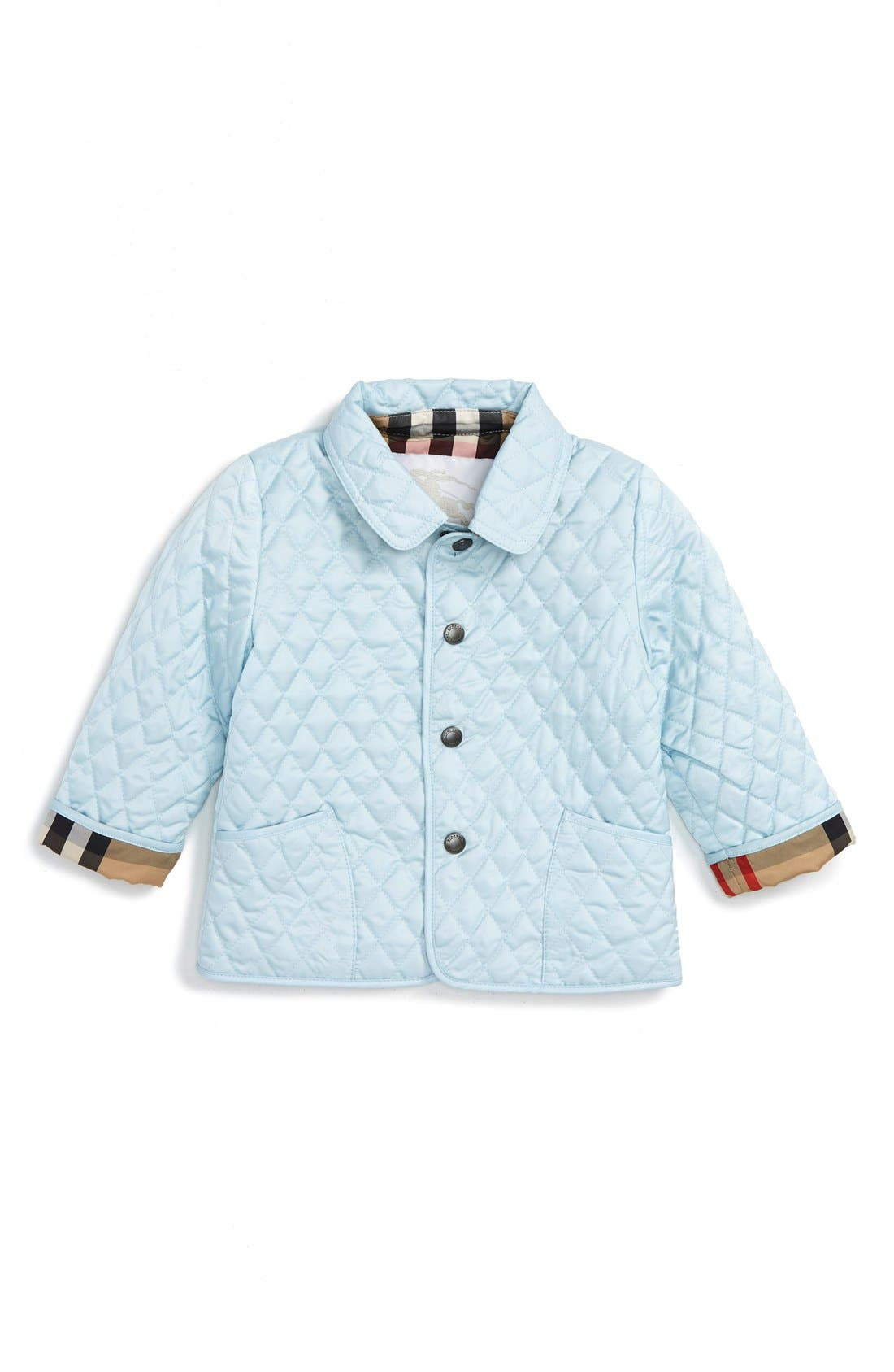 BURBERRY 'Colin' Quilted Jacket