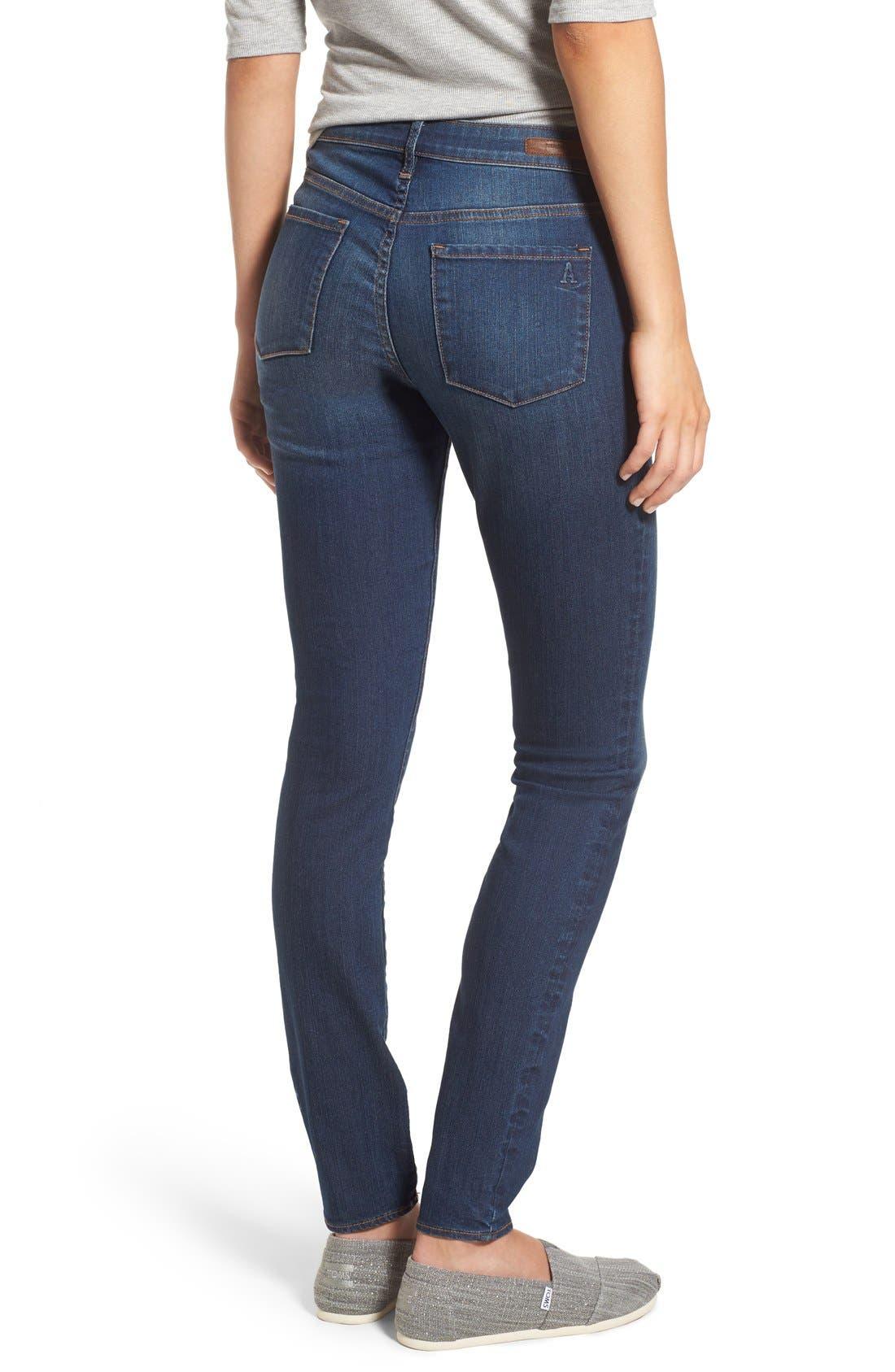 Alternate Image 3  - Articles of Society 'Mya' Skinny Jeans (Americana)