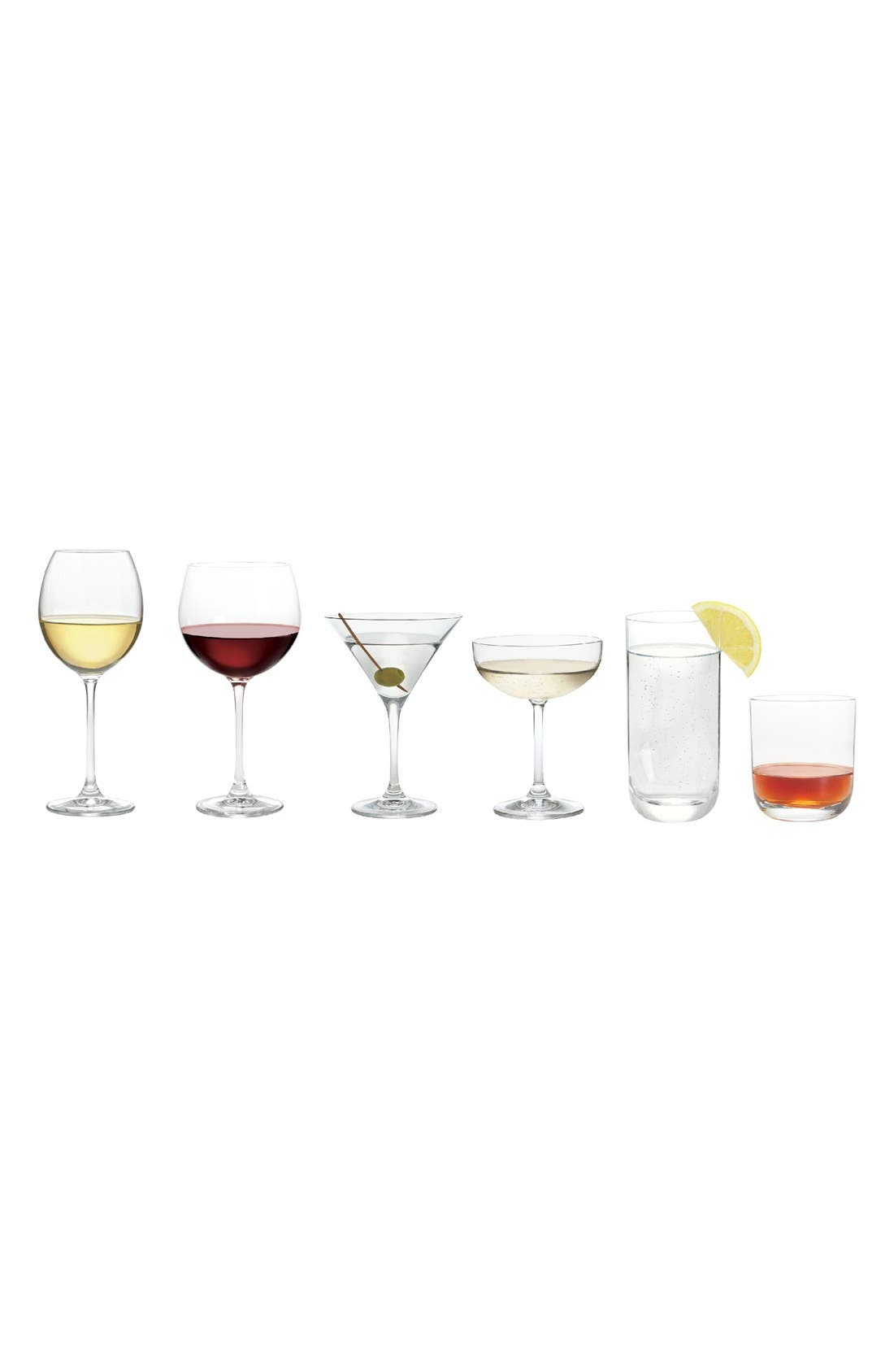 Alternate Image 2  - Nordstrom at Home Madrona Set of 4 Red Wine Glasses