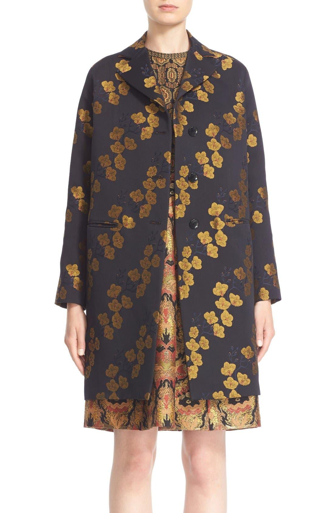 Alternate Image 1  - Etro Jacquard Cocoon Coat