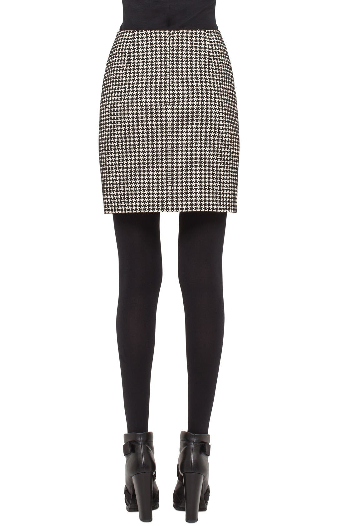Alternate Image 2  - Akris punto Houndstooth Miniskirt