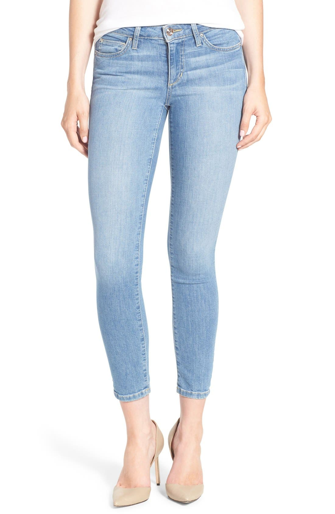 Alternate Image 1 Selected - Joe's 'Vixen' Ankle Skinny Jeans with Phone Pocket (Mitzi)