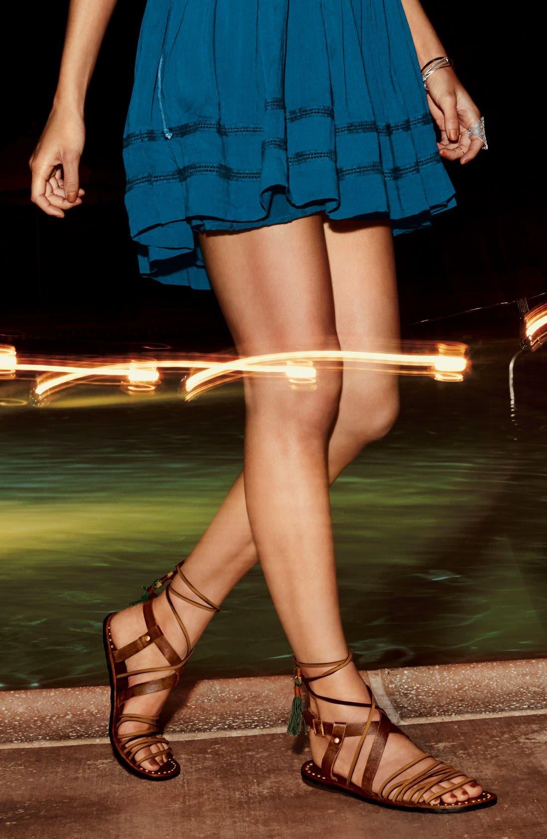 Alternate Image 7  - Free People 'Willow' Gladiator Sandal (Women)
