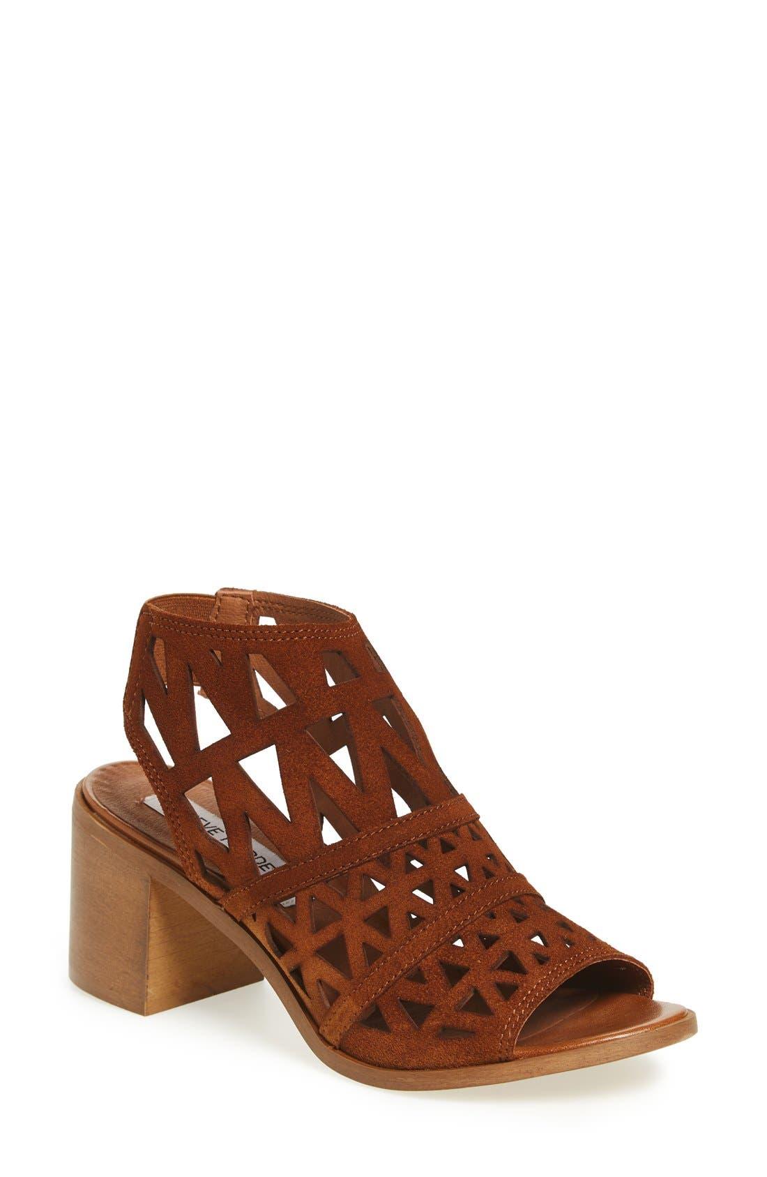 STEVE MADDEN 'Estee' Leather Sandal