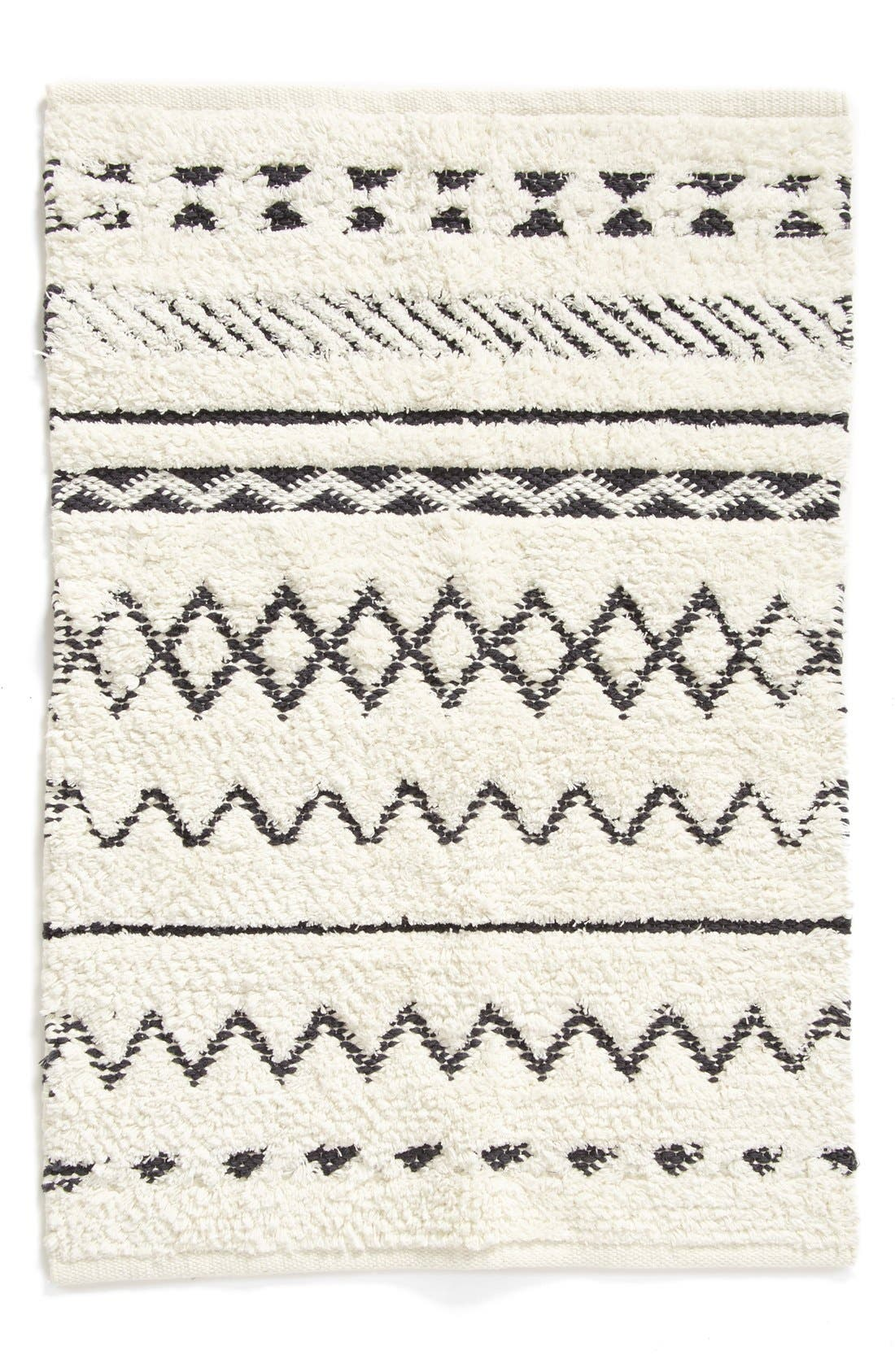 Main Image - Nordstrom at Home 'Diamond' Hand Tufted Cotton Rug