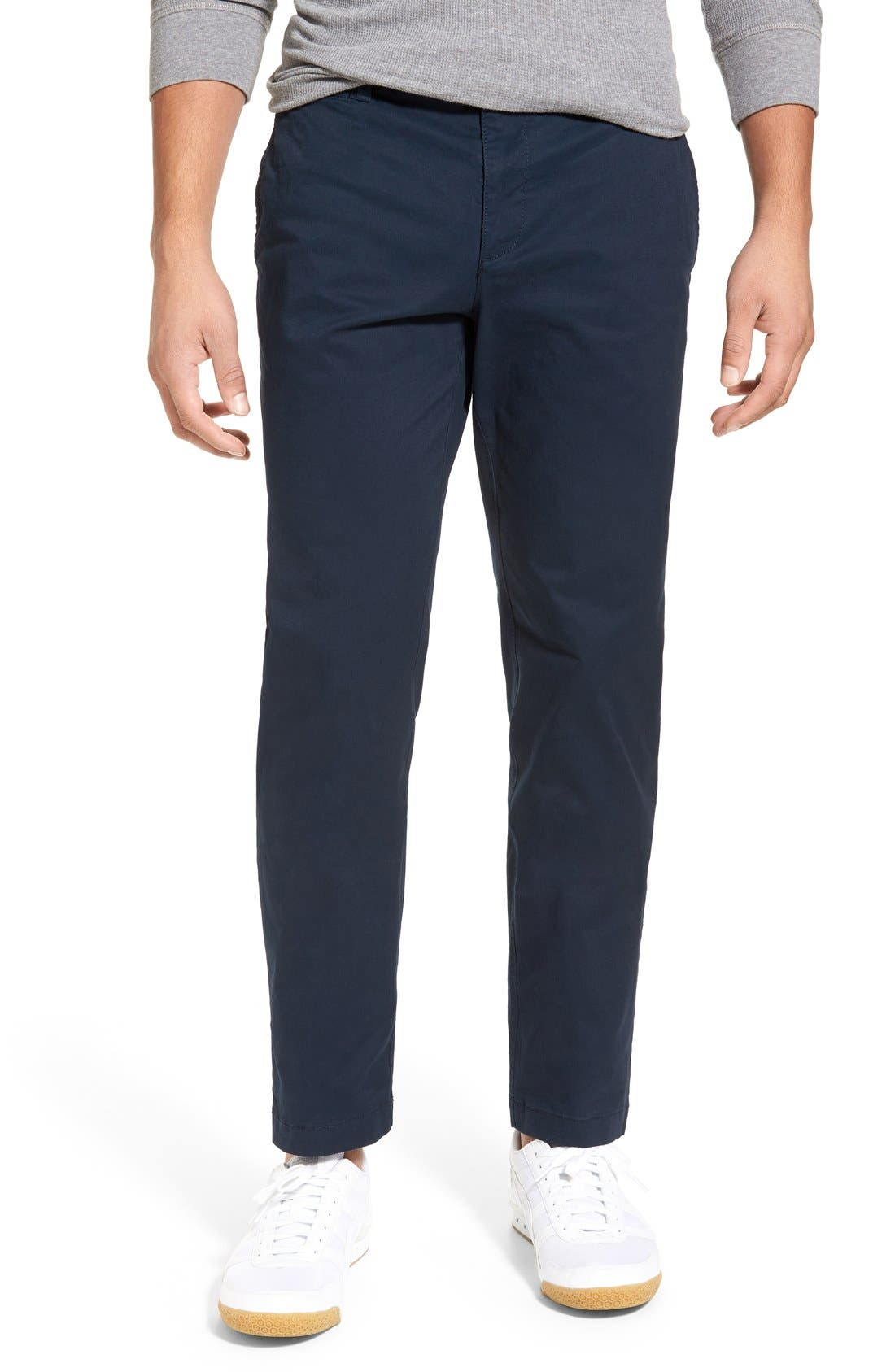 Original Penguin 'P55' Straight Leg Stretch Pants