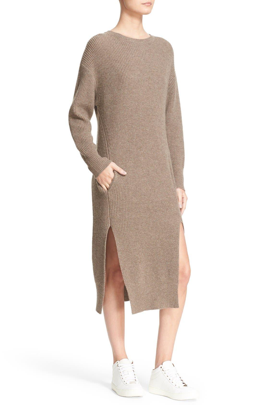 Alternate Image 4  - Sea Wool & Cashmere Midi Sweater Dress