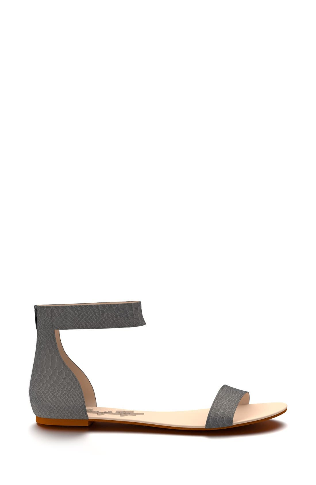 Alternate Image 3  - Shoes of Prey Ankle Strap Sandal (Women)