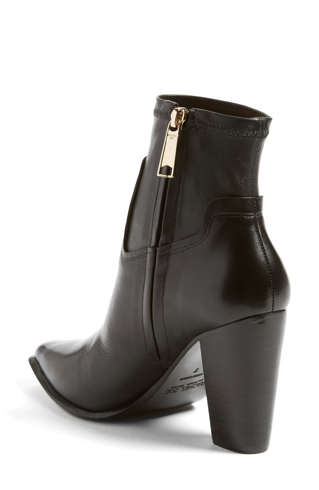 Alternate Image 2  - Rachel Zoe 'Bestie' Pointy Toe Bootie (Women)