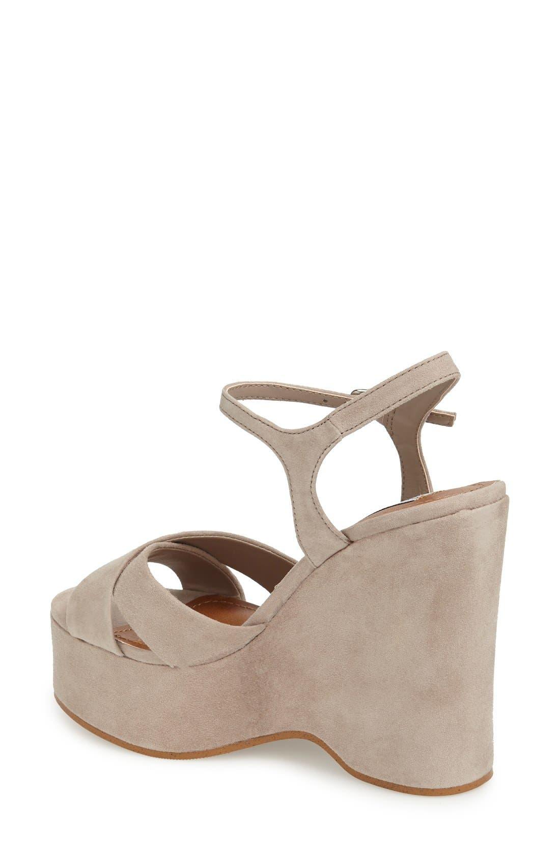 Alternate Image 2  - Steve Madden 'Casper' Platform Wedge Sandal (Women)