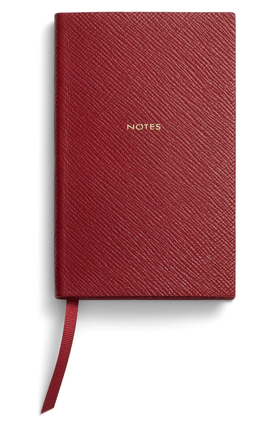 Smythson 'Panama Notes' Pocket Notebook
