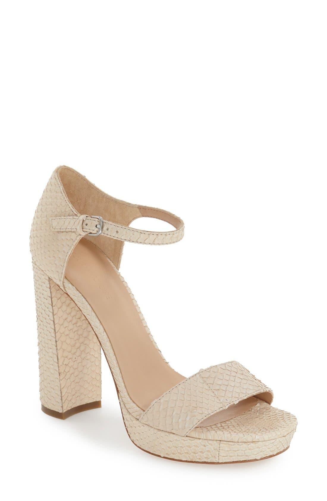 POUR LA VICTOIRE 'Yvette' Ankle Strap Sandal