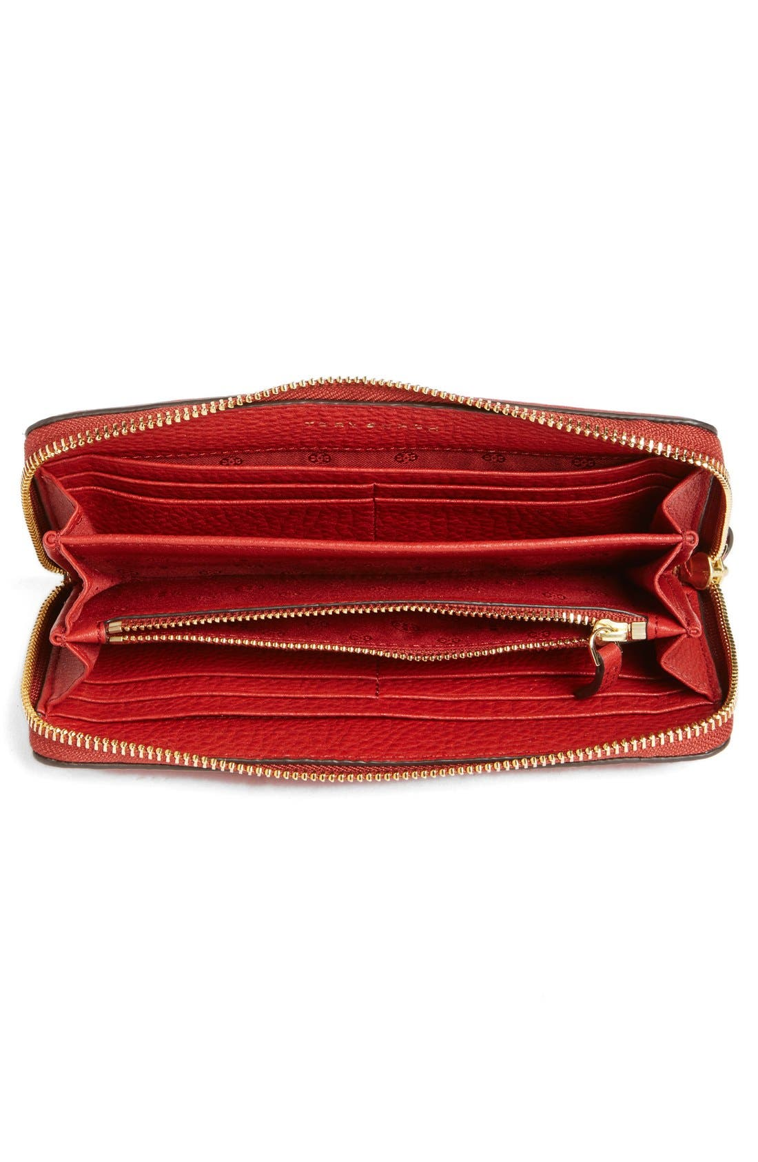 Alternate Image 6  - Tory Burch 'Thea' Zip Leather Continental Wallet