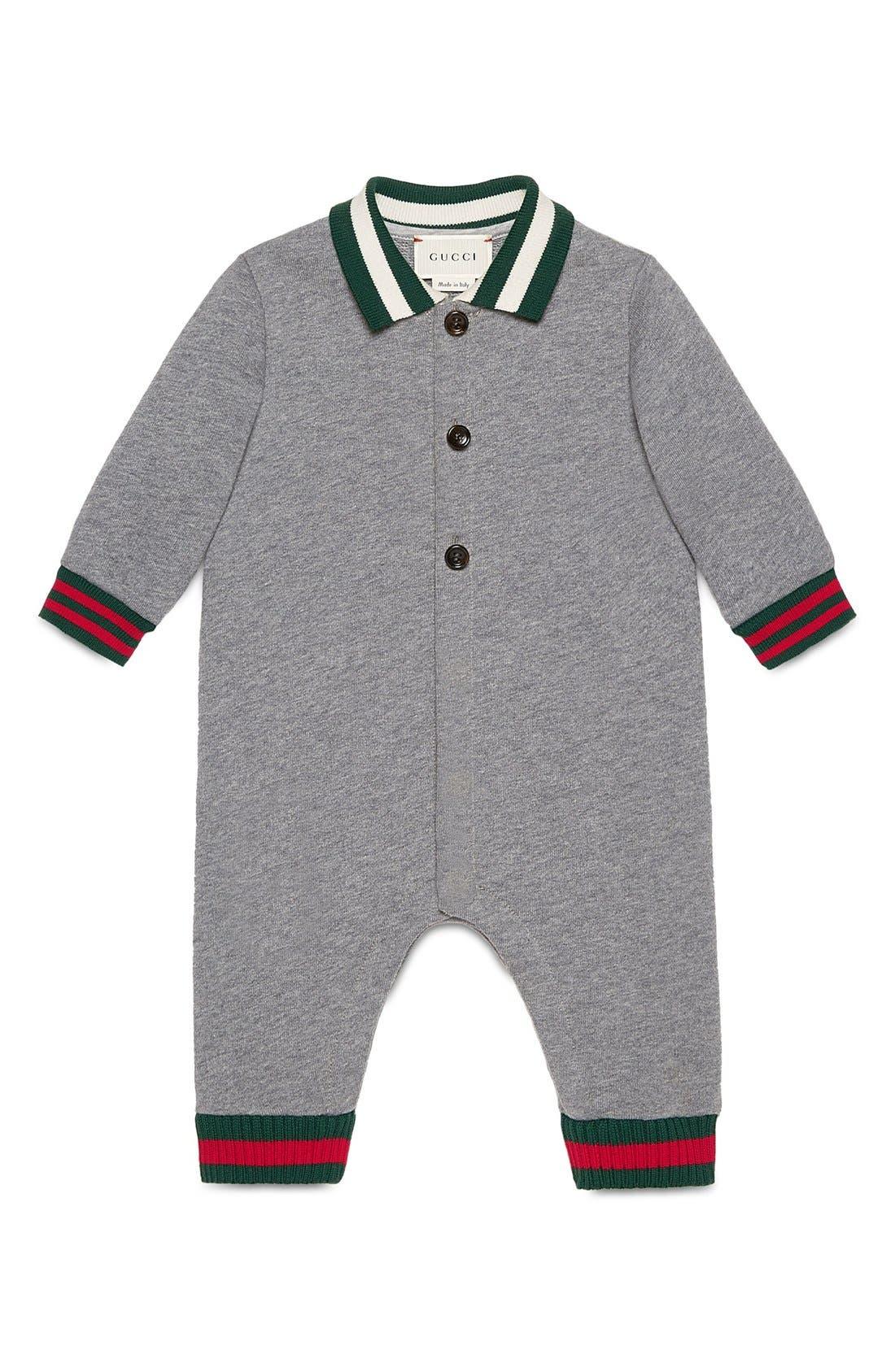 Gucci Knit Romper (Baby Boys)