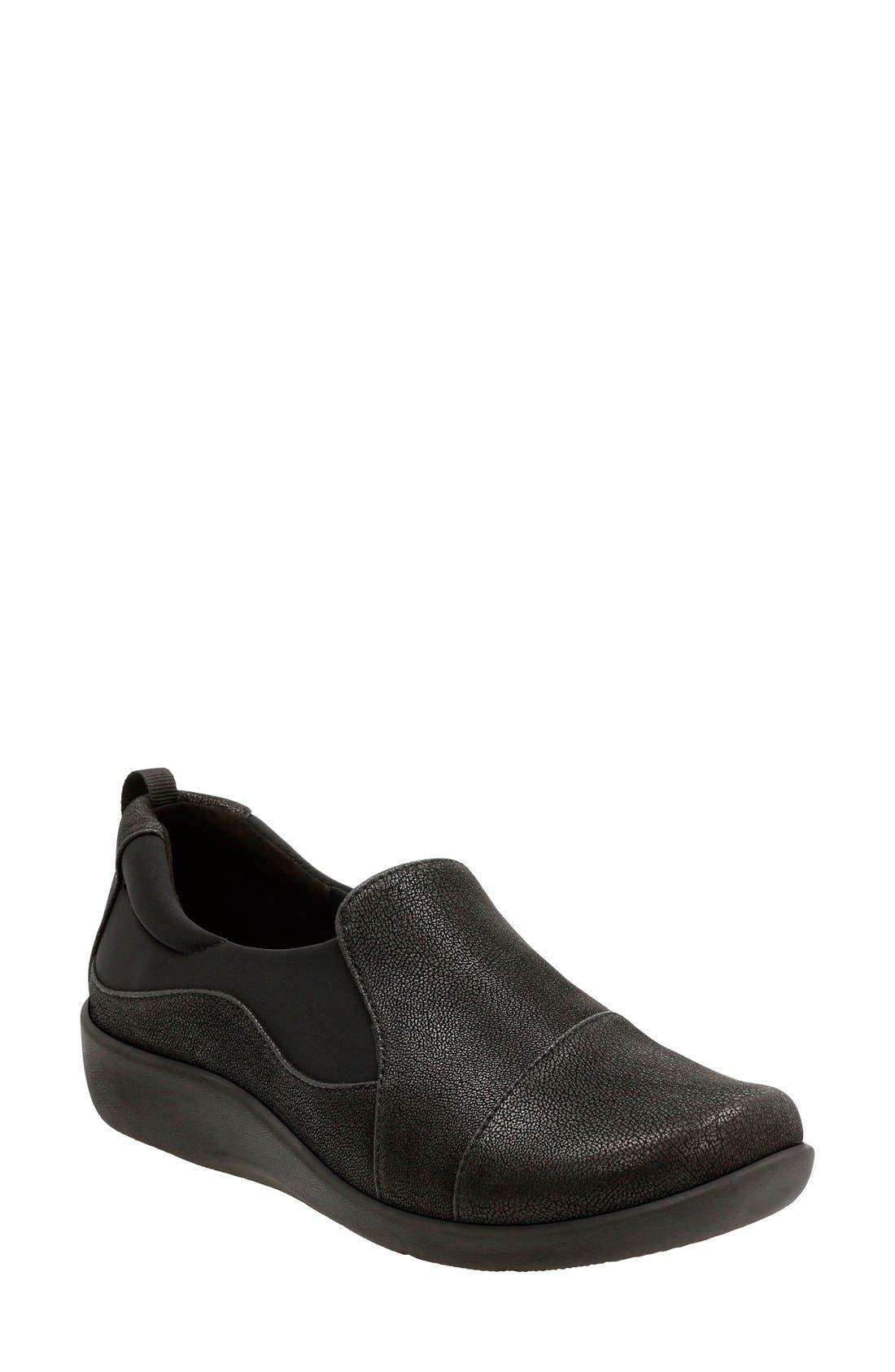 CLARKS® 'Sillian Paz' Slip-On Sneaker