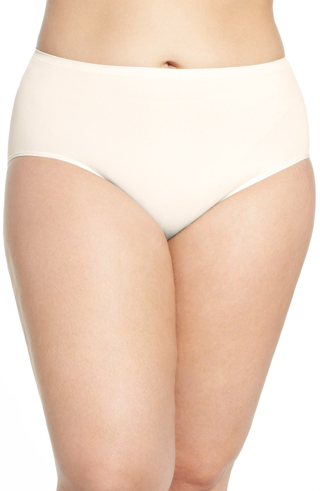 Nordstrom Lingerie Seamless Briefs (Plus Size) (4 for $34)