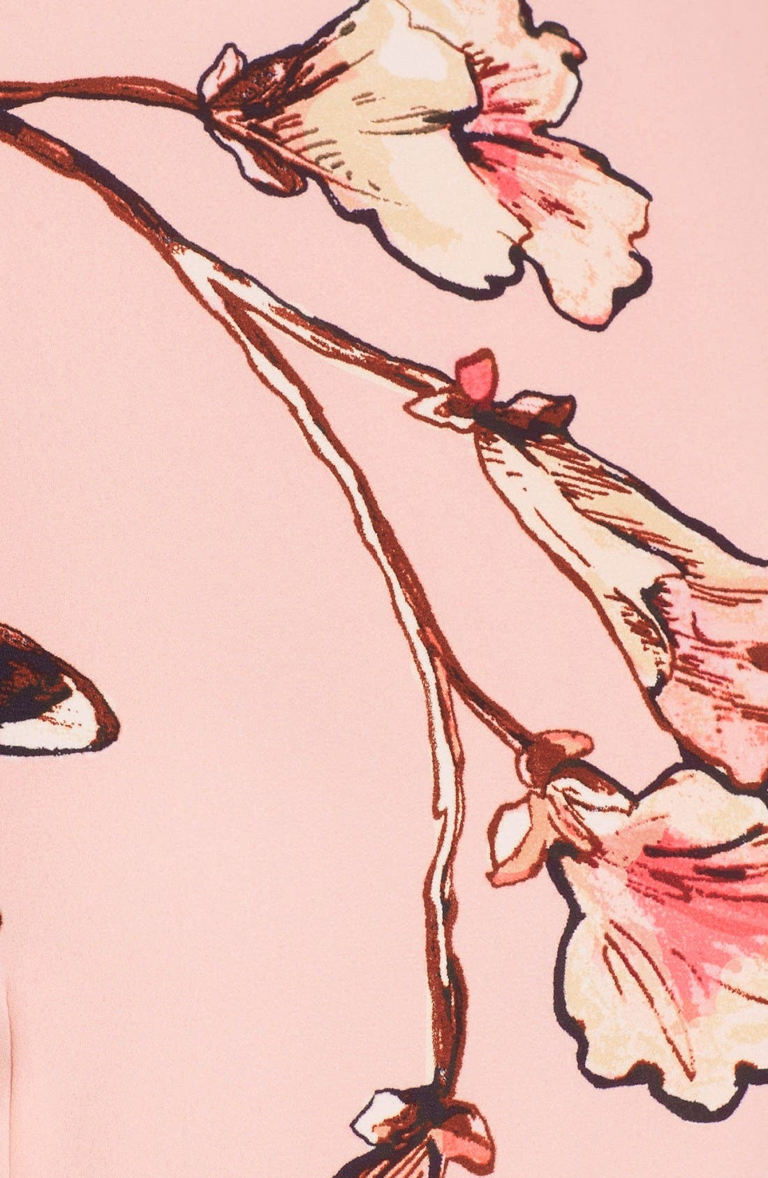 Alternate Image 5  - Ivanka Trump Floral Print Tiered A-Line Dress