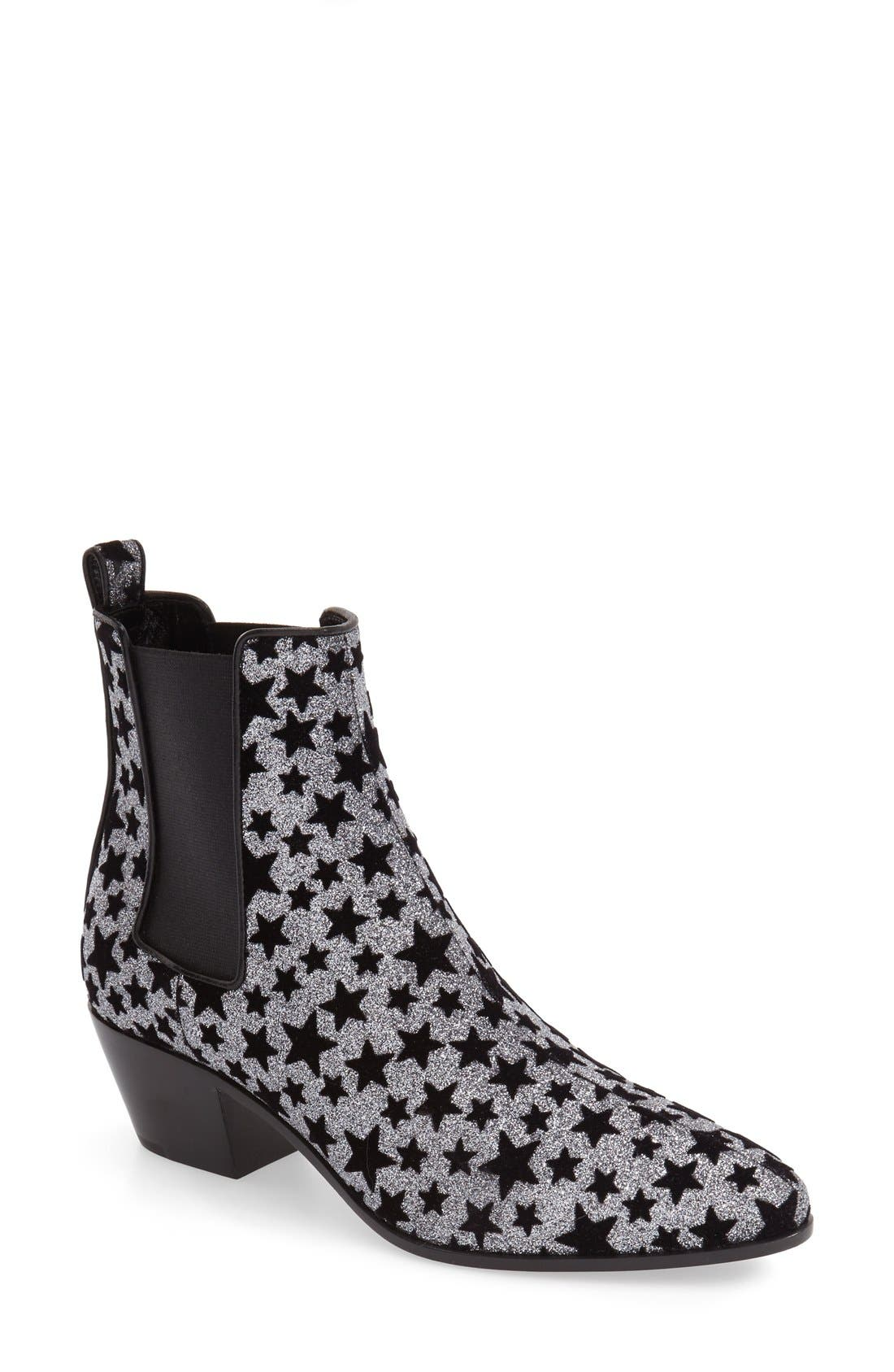 Alternate Image 1 Selected - Saint Laurent 'Rock Star' Bootie (Women)