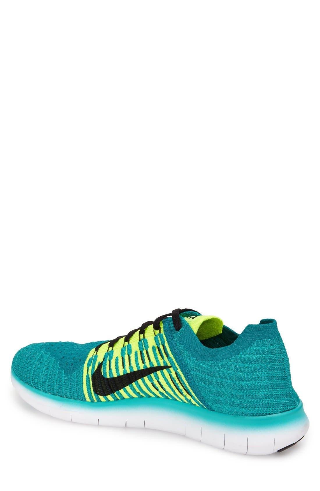 Alternate Image 2  - Nike 'Free Run Flyknit' Running Shoe (Men)