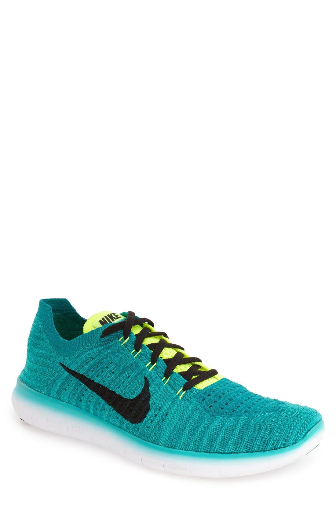 Alternate Image 1 Selected - Nike 'Free Run Flyknit' Running Shoe (Men)