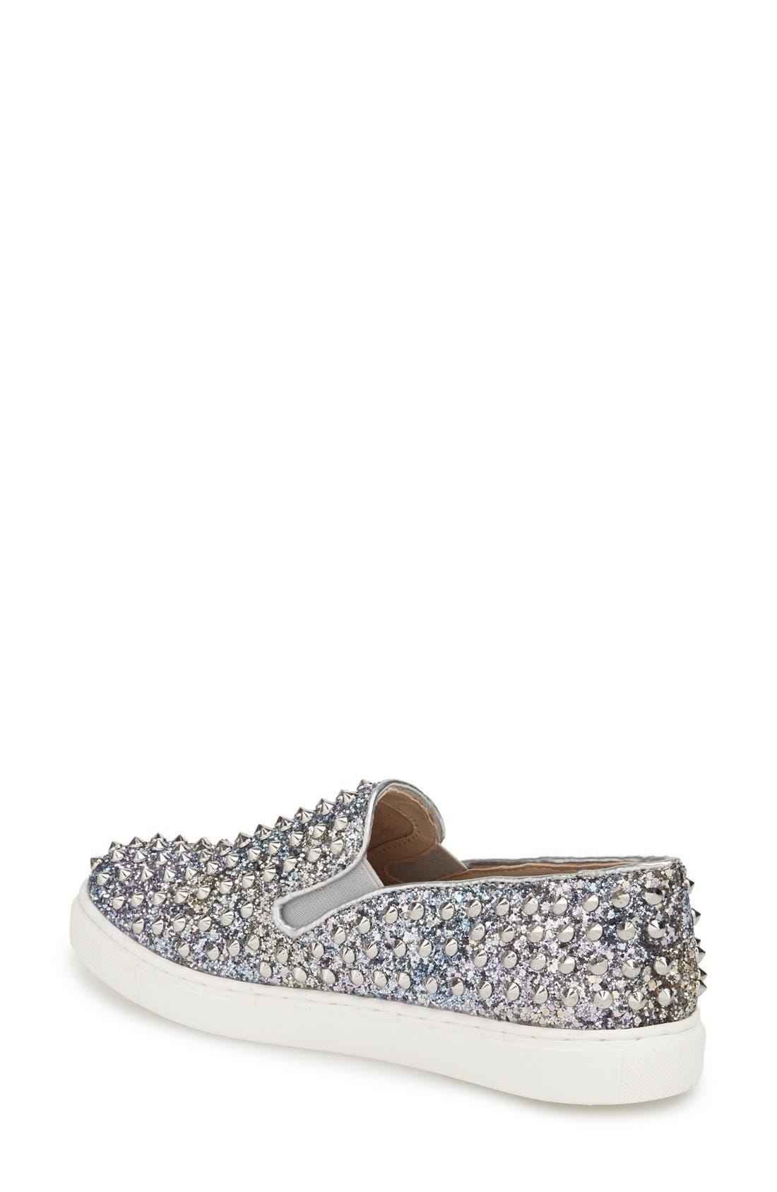 Alternate Image 2  - Steve Madden 'Emmmaa' Studded Slip-On Sneaker (Women)