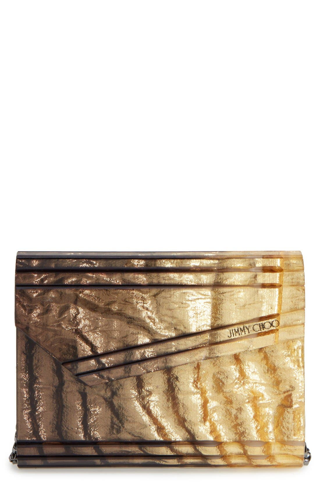 JIMMY CHOO 'Candy - Dégradé Crinkle' Clutch